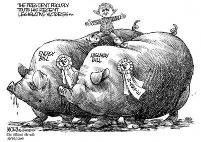 earmarking as an issue of the pork barrel politics Assessing the allocation of pork: pork barrel politics assessing the allocation of pork: evidence from congressional earmarks.