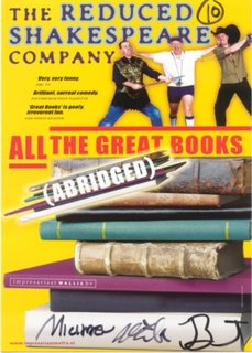 Reduced Shakespeare Company - signed!