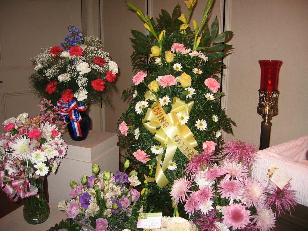 Funeral flower arrangements for dad image collections flower flowersfromdadsfuneral funeral flowers big arrangement from brian and susan izmirmasajfo izmirmasajfo