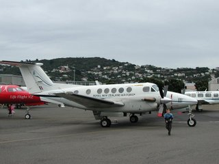 RNZAF Kingair B200