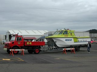 Airport rescue boat