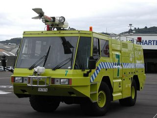Wellington International Airport Fire Engine