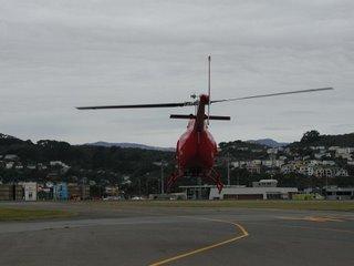 Helipro Jetranger II departing