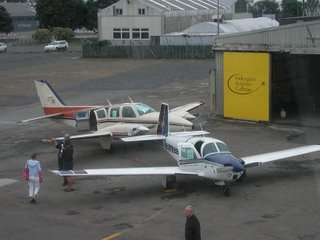 WAC's Mooney M20C and a Beech 58