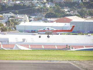 Wellington Flight Training Beech 77