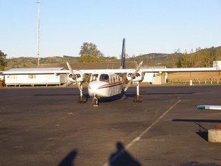 Britten-Norman Islander from Mountainair