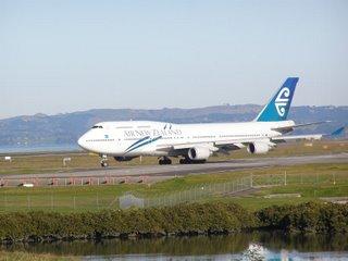 Air NZ B747