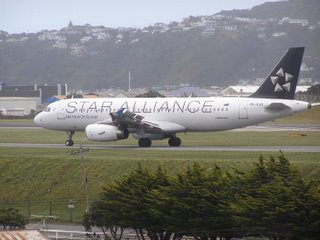 A320 in Star Alliance scheme