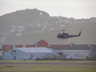 RNZAF Huey Arrival