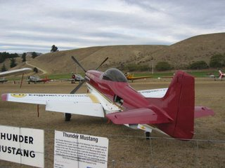 New Zealand's Mighty Thunder Mustang