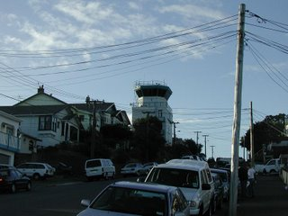 Wellington International Airport Control Tower