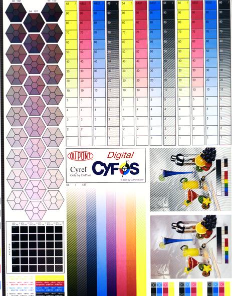 Preimpresión e Impresión: Flexografía: el test de máquina