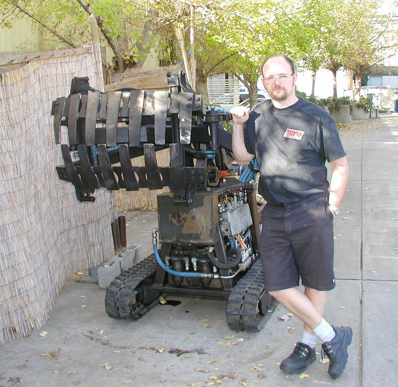 Homemade Forklift Boom : Notes from the technology underground it takes a forklift