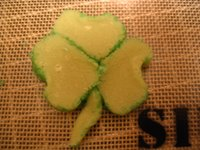 Step 3: Shamrocks
