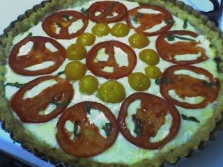Kady's Tomato Peace Tart