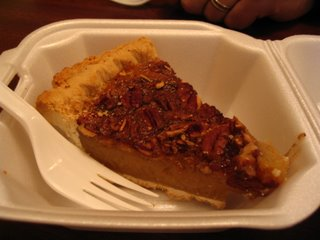 Nasty Frozen Bourbon Pecan Pie