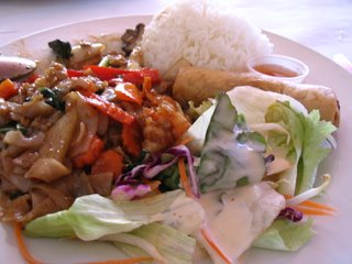 Drunken Noodles Lunch Special from Royal Thai