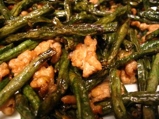 Dry Fried Long Beans