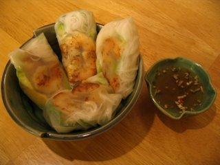 Vietnamese Garden Rolls
