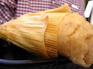 Pineapple Tamale from Rudy's