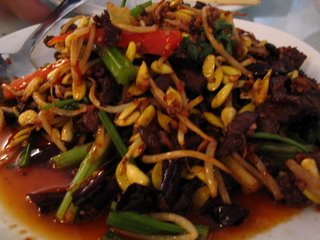 Stir-fried Dry Beef