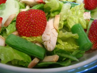 Strawberry and Roasted Chicken Salad