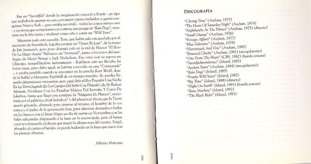 la letra de la cancion tras los libros: