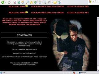 Rhinedogs, la máxima autoridad en grabaciones piratas de Tom Waits