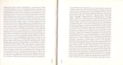 The Black Rider. Letras. 1994