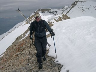 Bob Merrill on the Summit Ridge of Timpanogos
