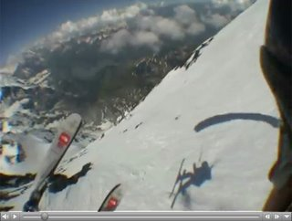 Skiing the Eiger