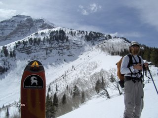 Mount Timpanogus - Utah's finest ski mountaineering local