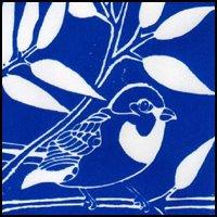 Sparrow Linocut