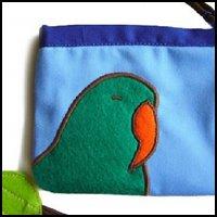 Eclectus Parrot Pouch