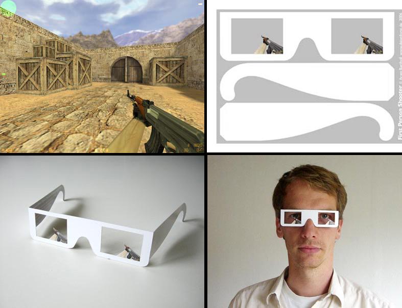 Как сделать самому очки 3d