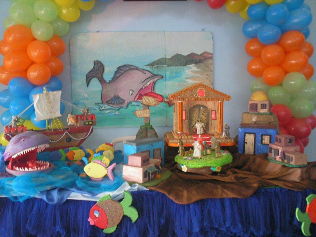 Marcia Eventos Decoração Infantil com temas bíblicos