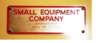 Small Equipment