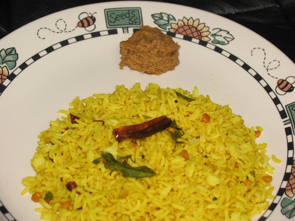 how to make lemon rice with lemon rice powder