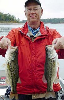 Lake Broken Bow bass fishing report from Broken Bow Fishing Guide Bryce Archey