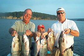 Great fishing on skiatook for Skiatook lake fishing report