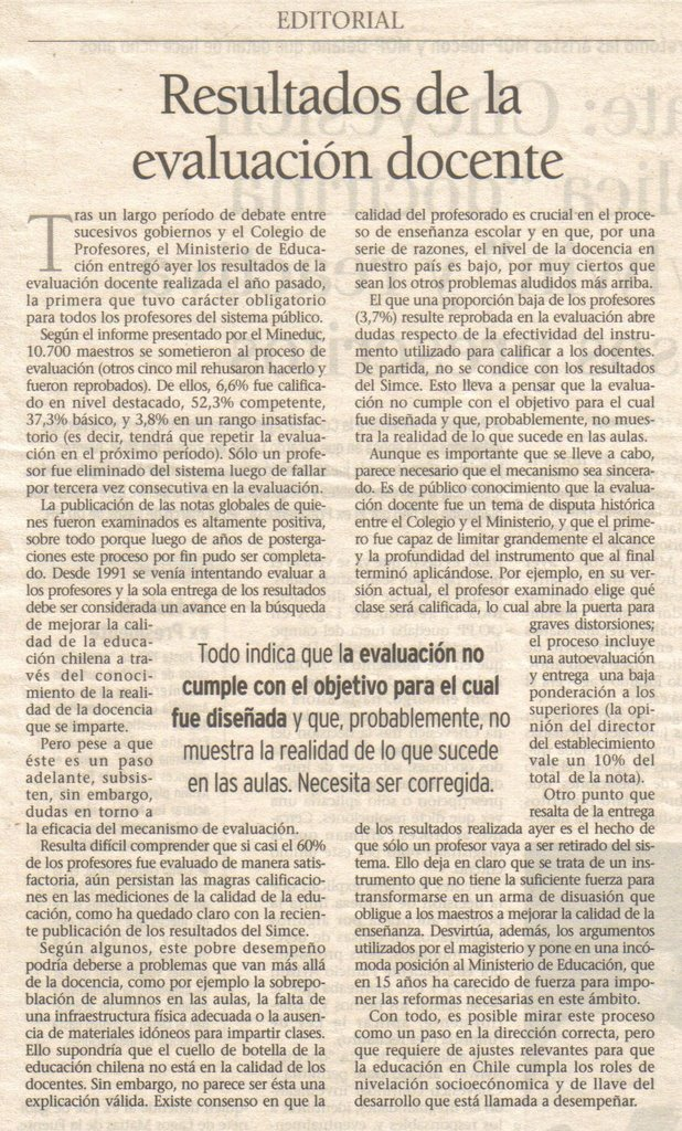 Webdelfenix 05 01 06 for Ejemplo de una editorial de un periodico mural