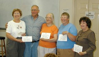 The Old Unicoi Trail Chapter of DAR, 9/23 presenters