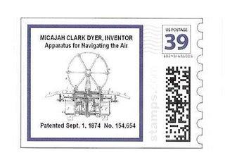 Micajah Clark Dyer stamp