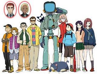 Furi Kuri - Personagens