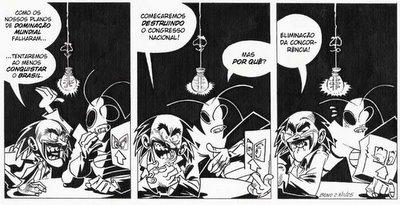 Homem-Grilo - Tira 42 - por Cadu Simões & Samuel Bono