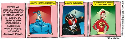 Homem-Grilo por Cadu Simões, Jeff Batista e Rodrigo Montero