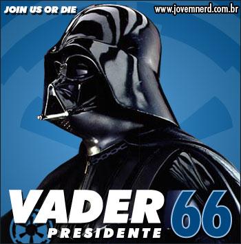 Darth Vader para Presidente