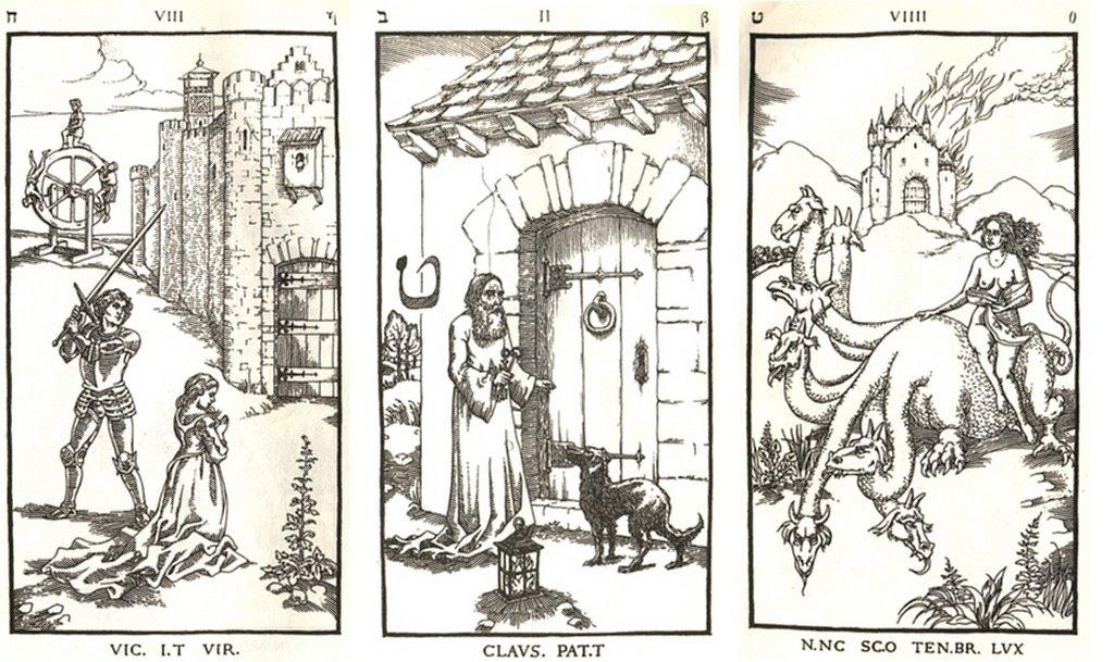 the nine gates of the kingdom of shadows engravings