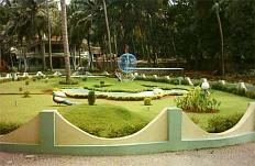 Divine Gardens at Divine Call Centre, Mulky. Director: Rev.Fr. Jerry Sequiera, SVD