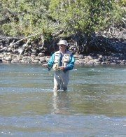 Colo State Rep Dave Schultheis fishing his way across the Rio Grande